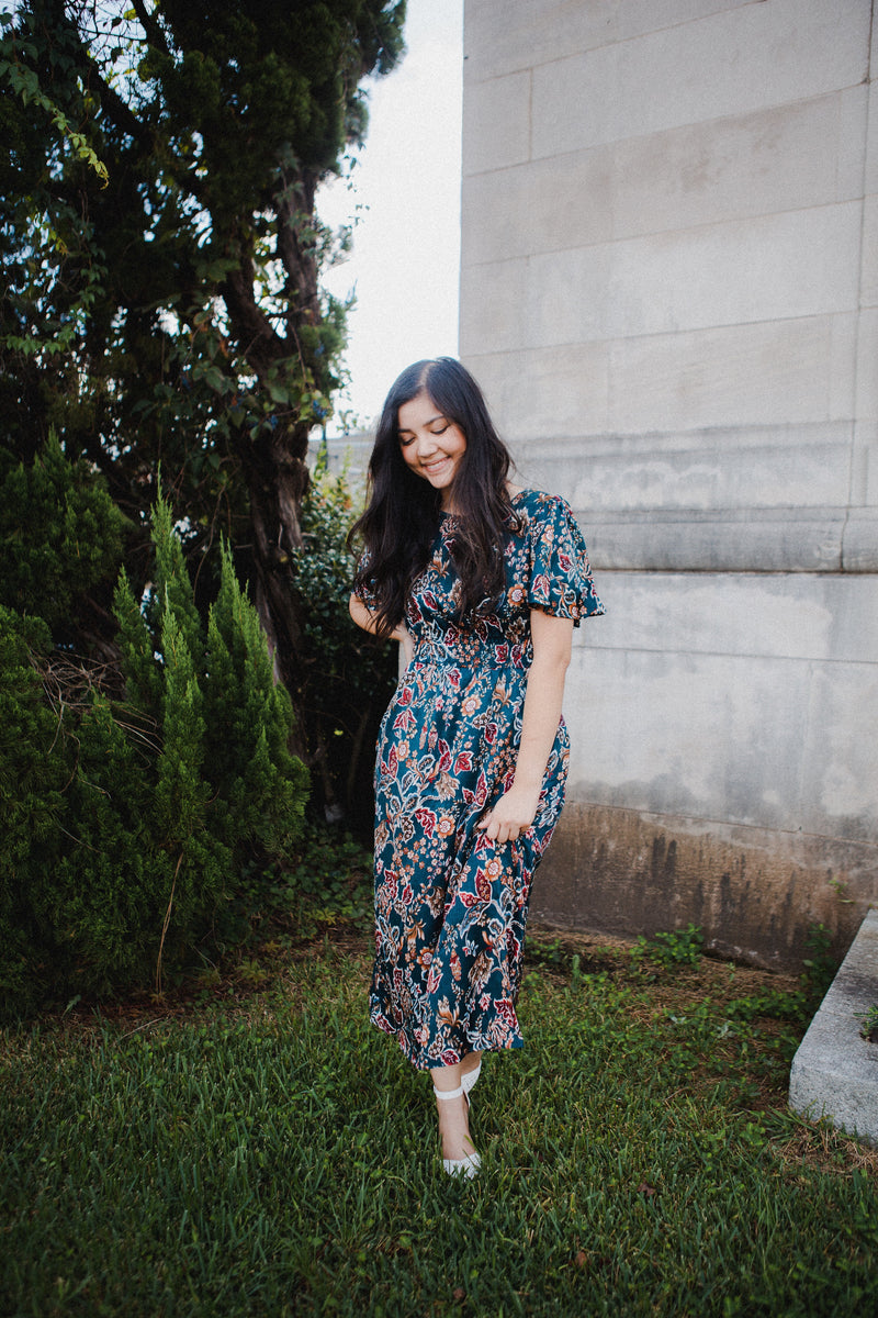 *RESTOCKED* Dublin Floral Dress
