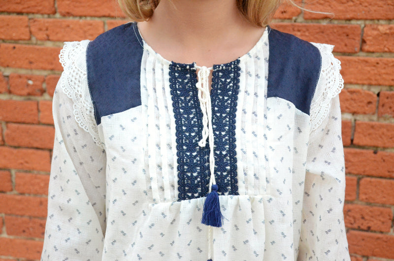 *FINAL SALE* The French Market Blouse
