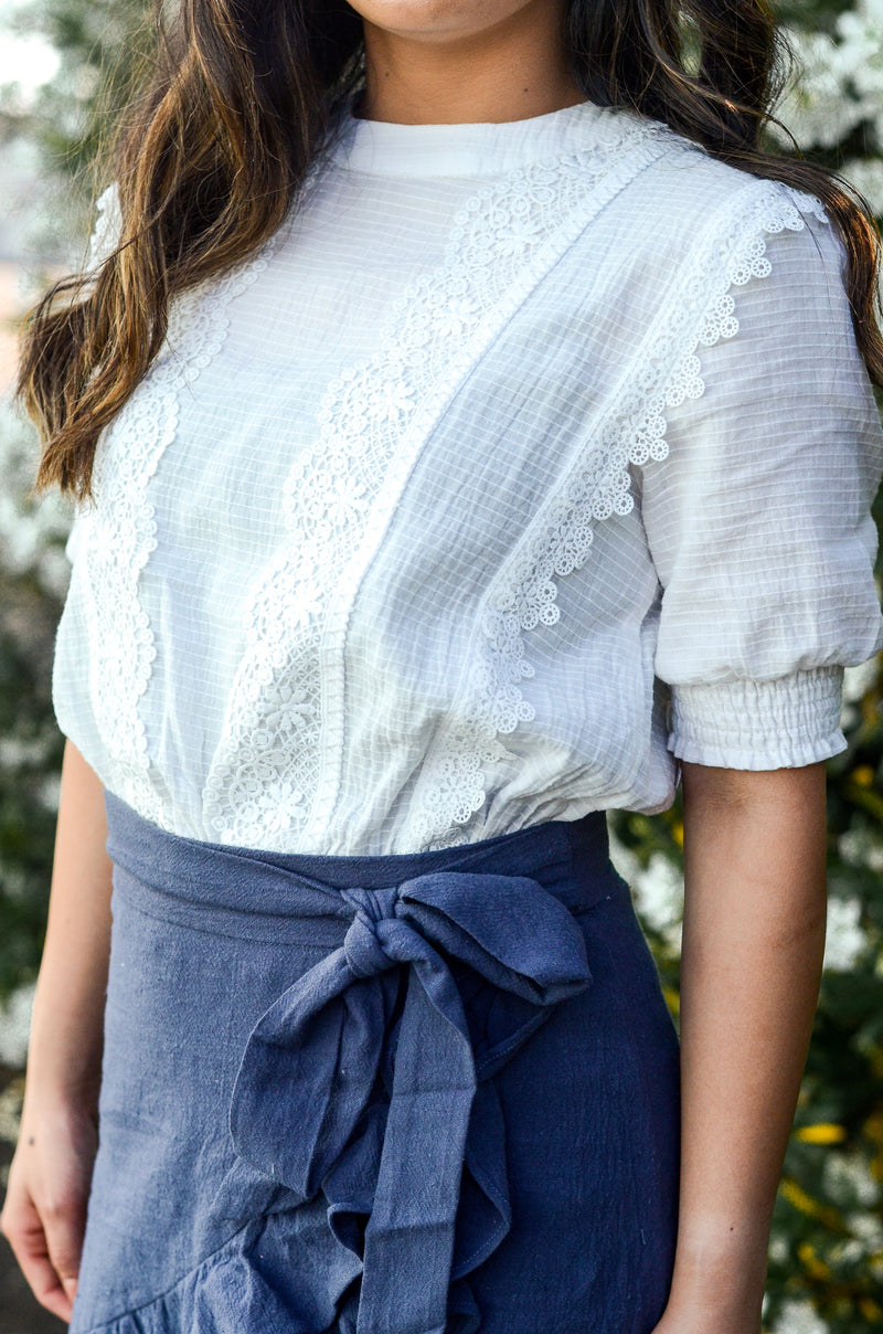 The Mooring Lace Blouse