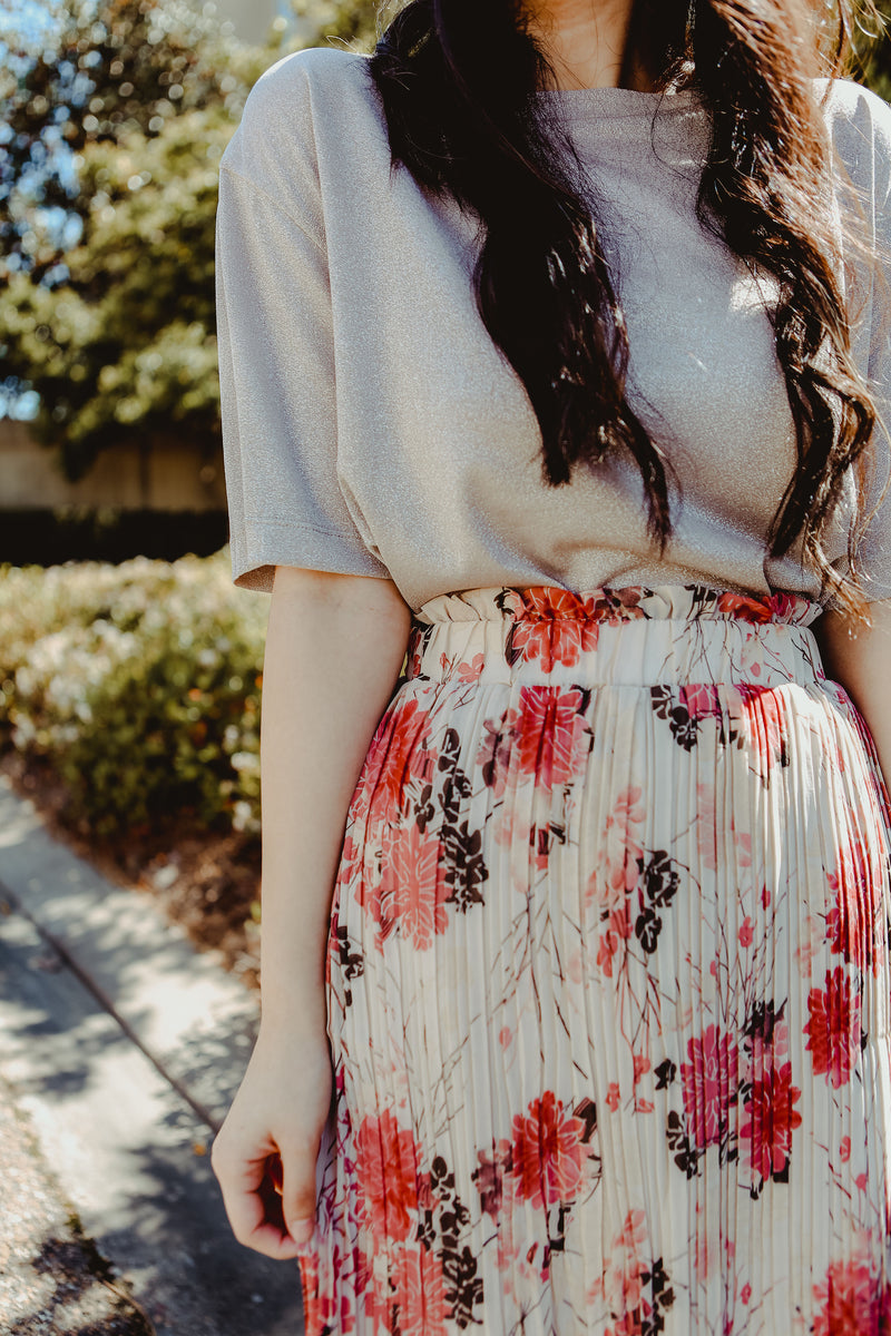 Maria Floral Skirt