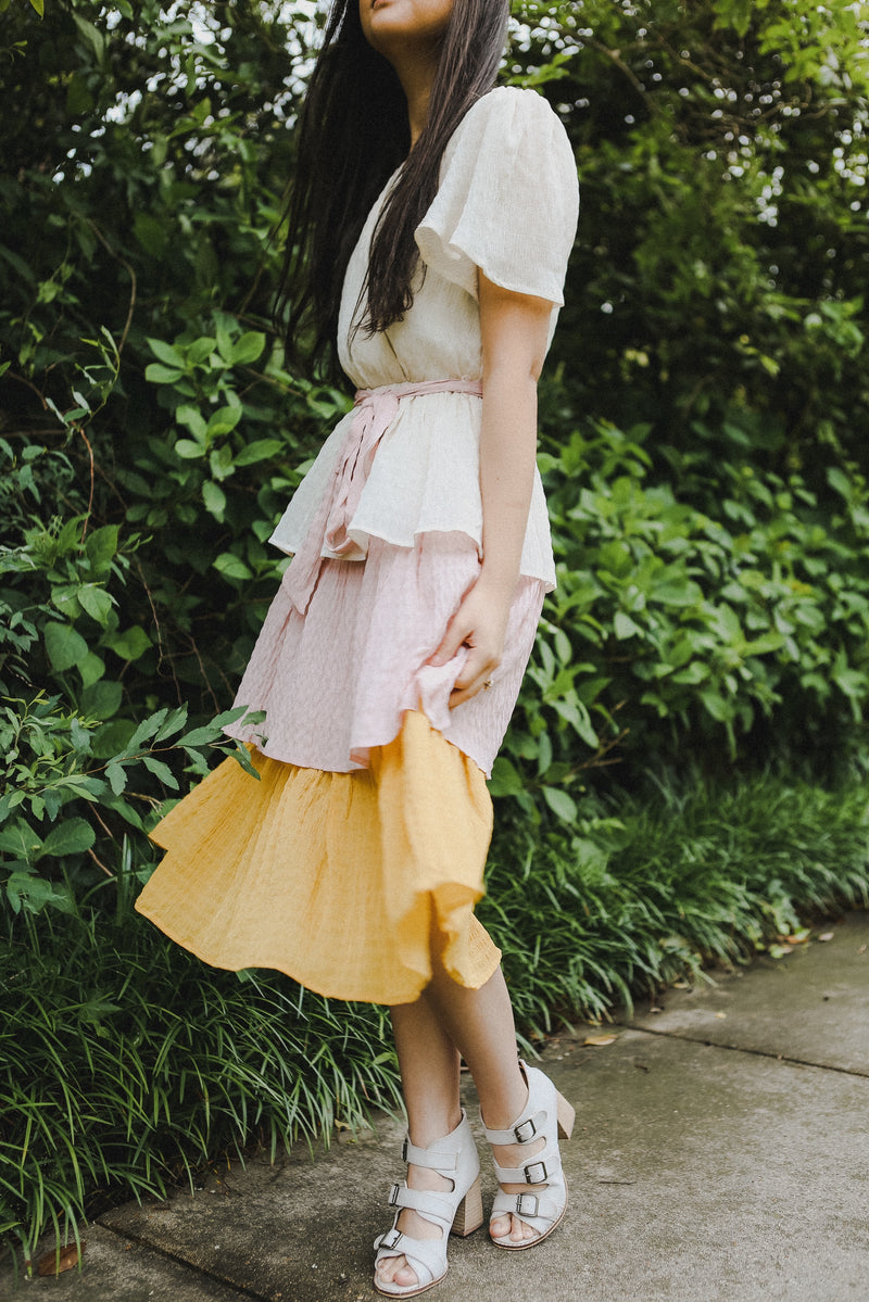 Belle Tiered Dress