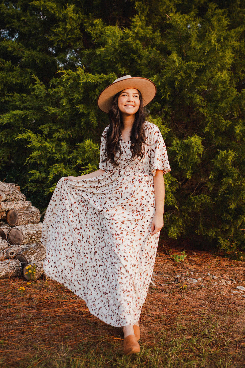 The Rome Lace Maxi Dress