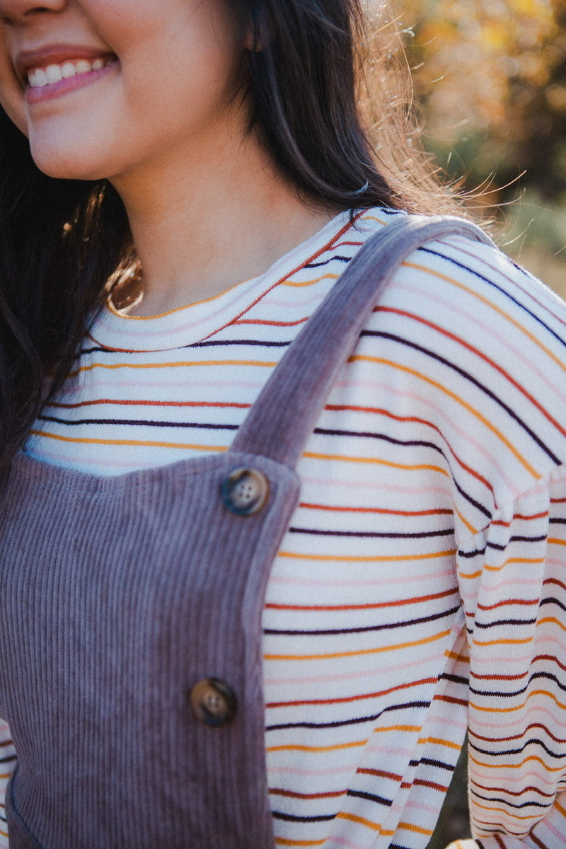 Alana Multi Striped Sweater