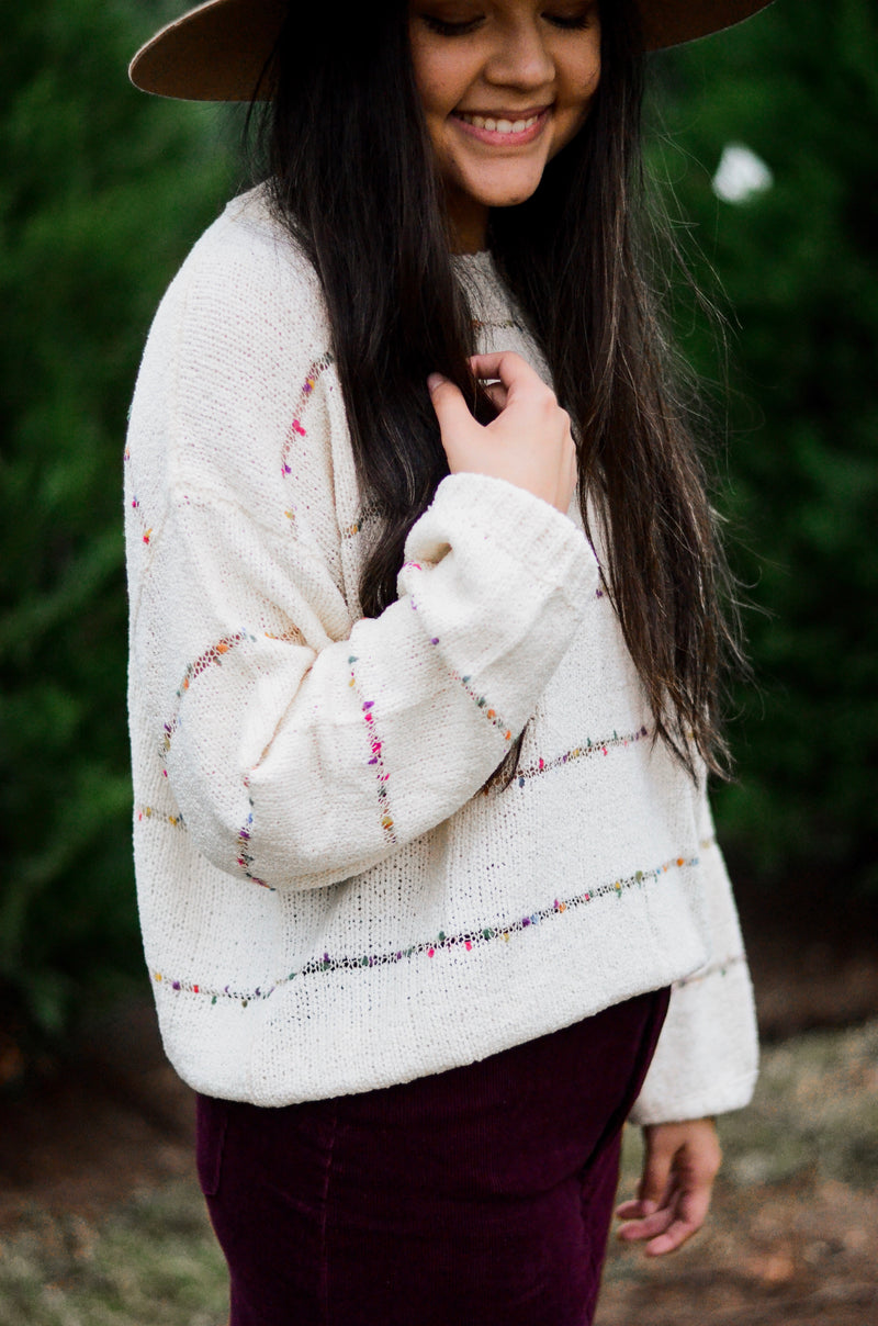 The Naomi Funfetti Sweater