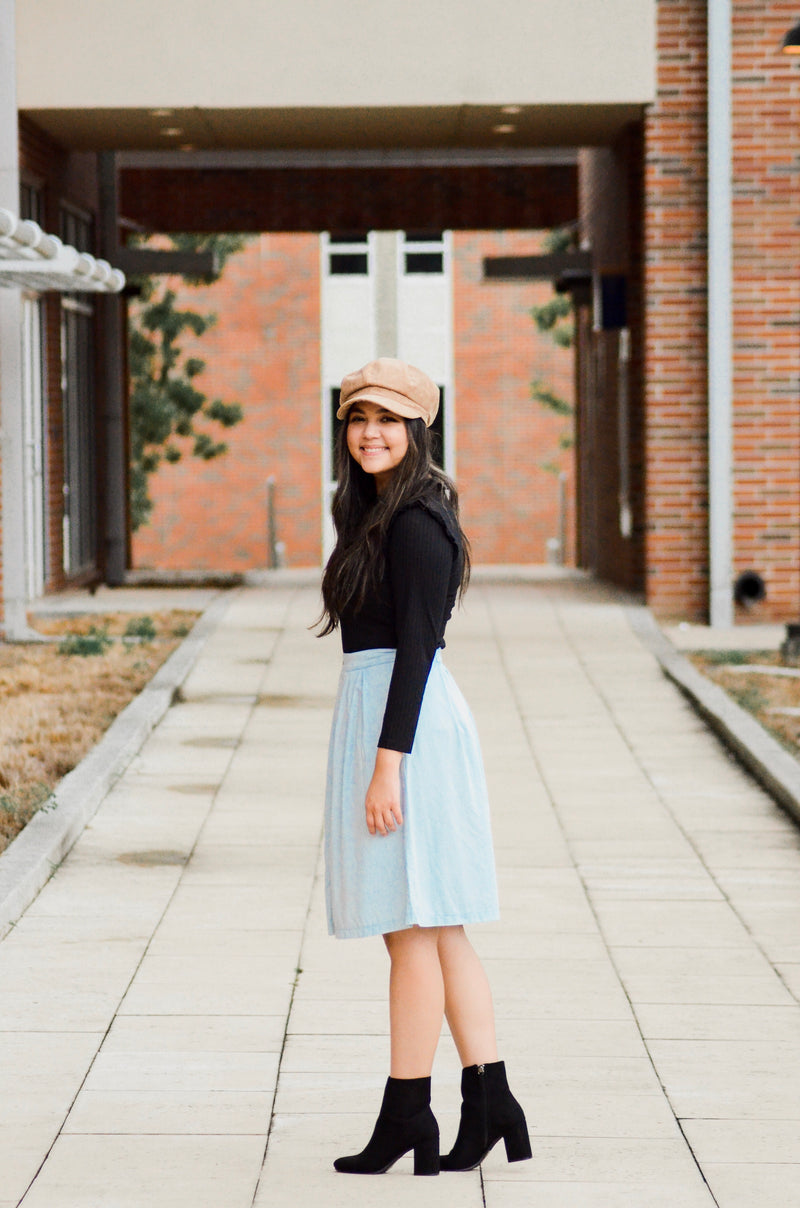The Grove A-line Skirt