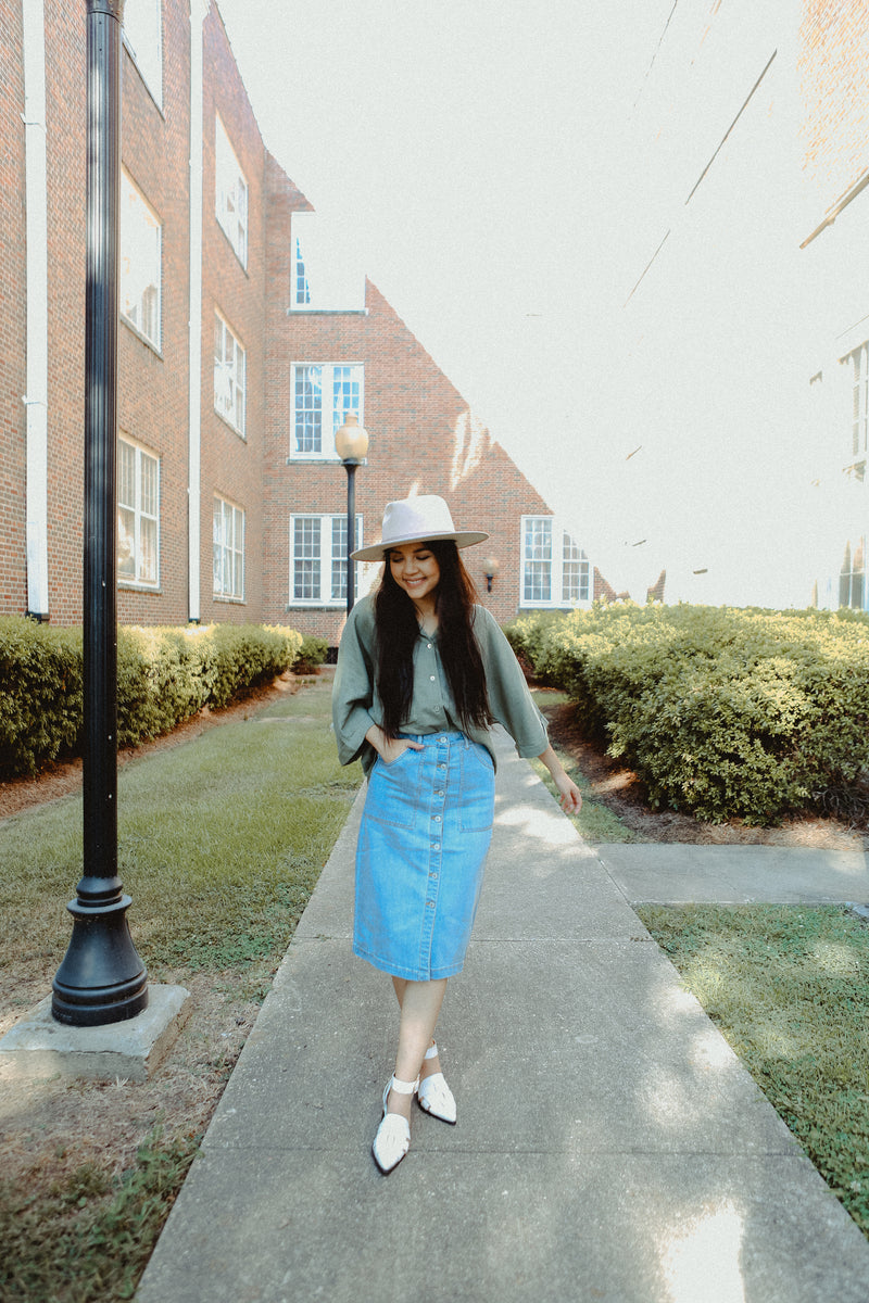 Lorelai Denim Skirt
