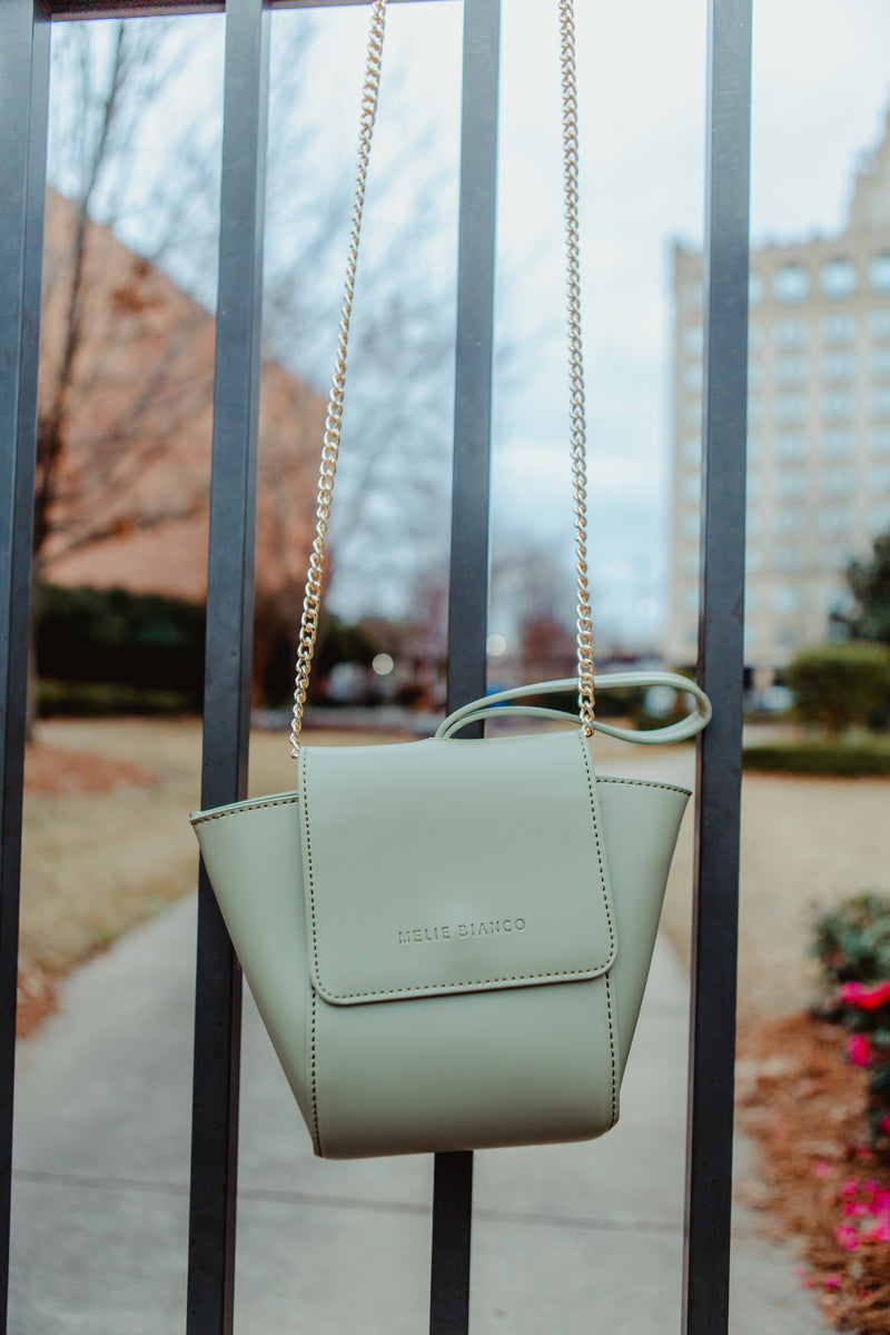 The Titusville Handbag in Pistachio