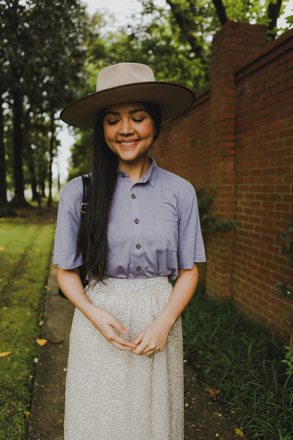 Serendipity Blouse in Lavender