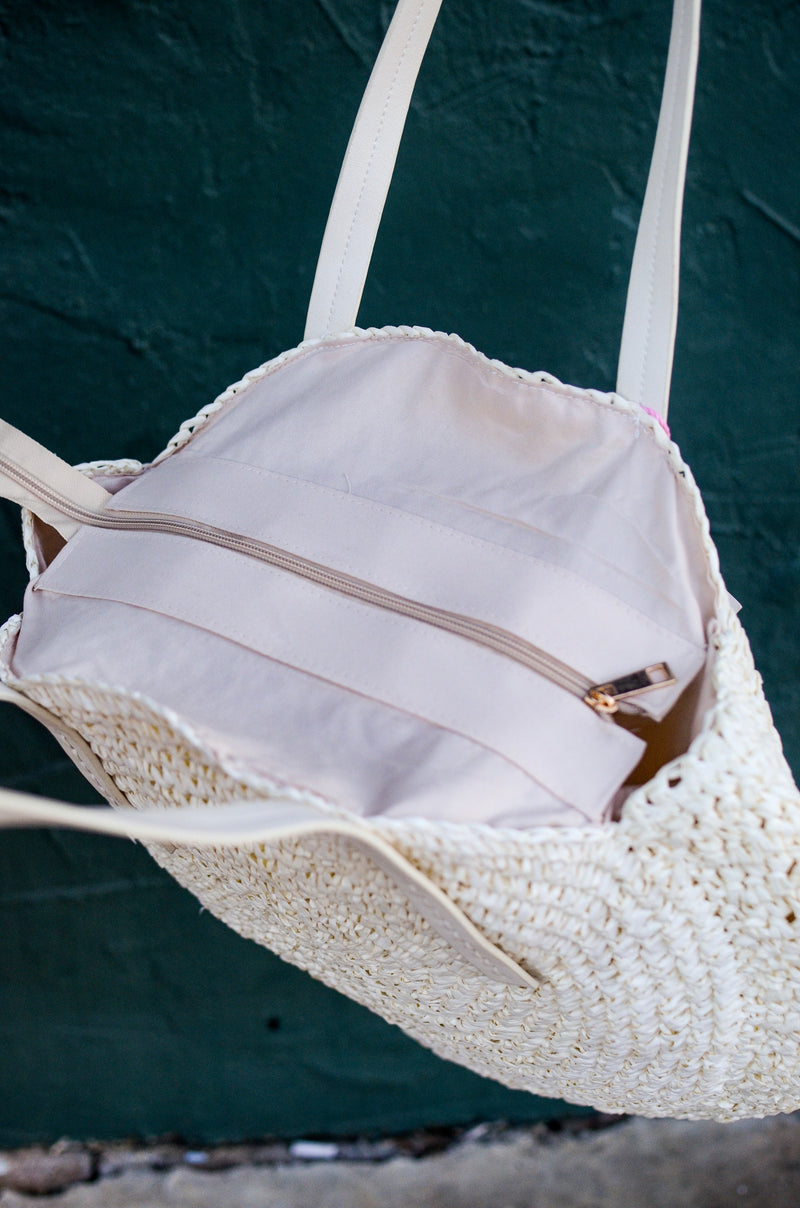 The Ivy Woven Tote