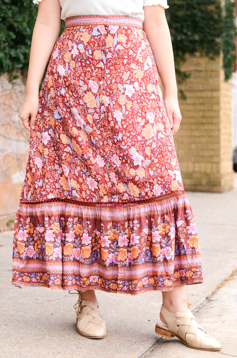 The Gianna Maxi Skirt