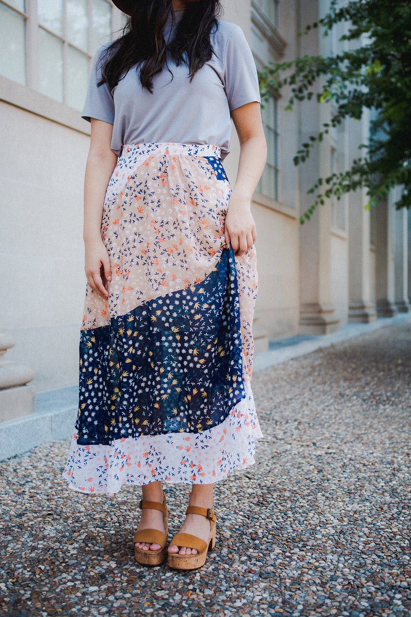 The Better Together Denim Skirt