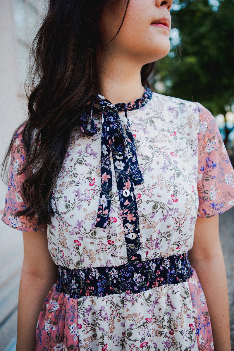 The Penelope Floral Midi Dress