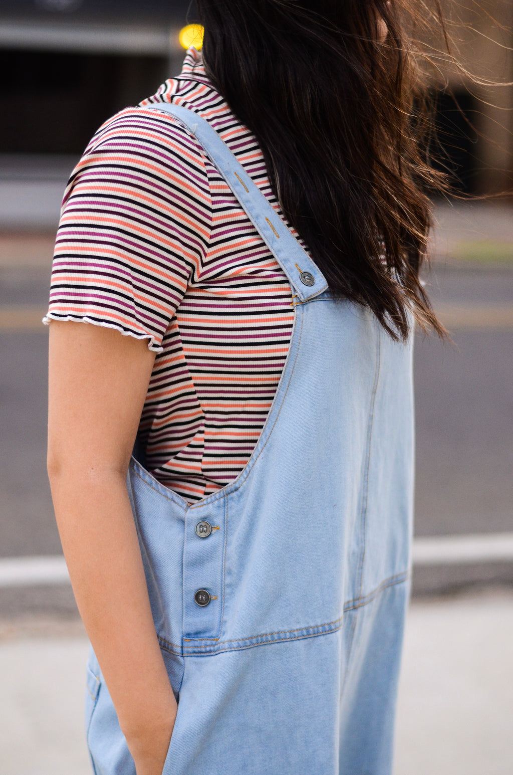 The Melendez Denim Overalls