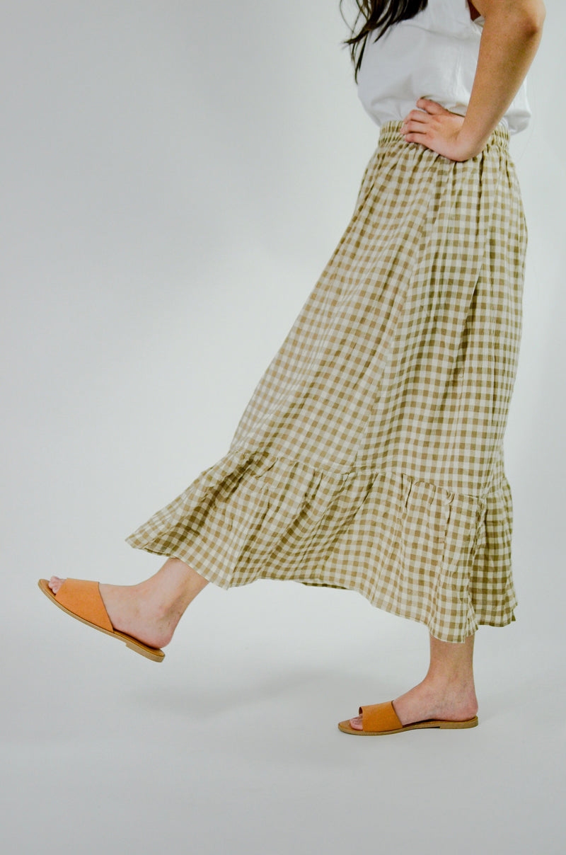 Fly Away With Me Wrap Maxi Skirt
