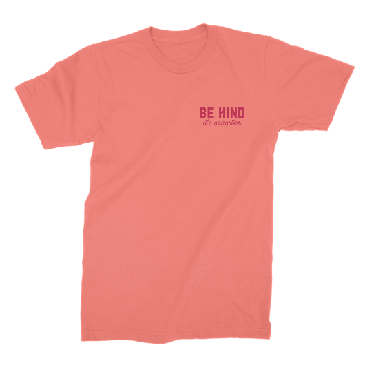 Be Kind, It's Gangster - Boyfriend Tee