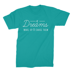 Dreams, Wake Up & Chase Them - Boyfriend Tee