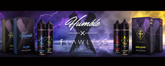 Humble X Flawless eliquid collab is now available from Vape LDRS Distribution in Austin, Texas!
