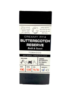 GLAS BASIX | Butterscotch Reserve 60ml