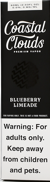 COASTAL CLOUDS | Blueberry Limeade 60ml