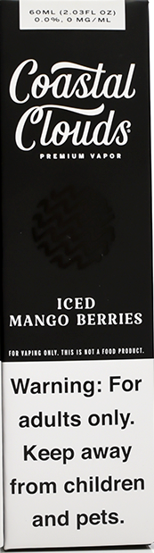 COASTAL CLOUDS | Iced Mango Berries 60ml