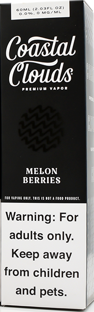 COASTAL CLOUDS | Melon Berries 60ml