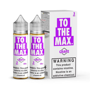 TO THE MAX | Grape 120ml eLiquid