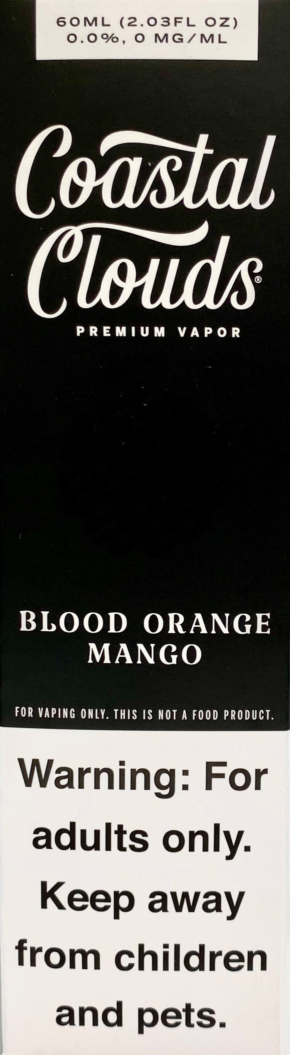 COASTAL CLOUDS | Blood Orange Mango 60ml