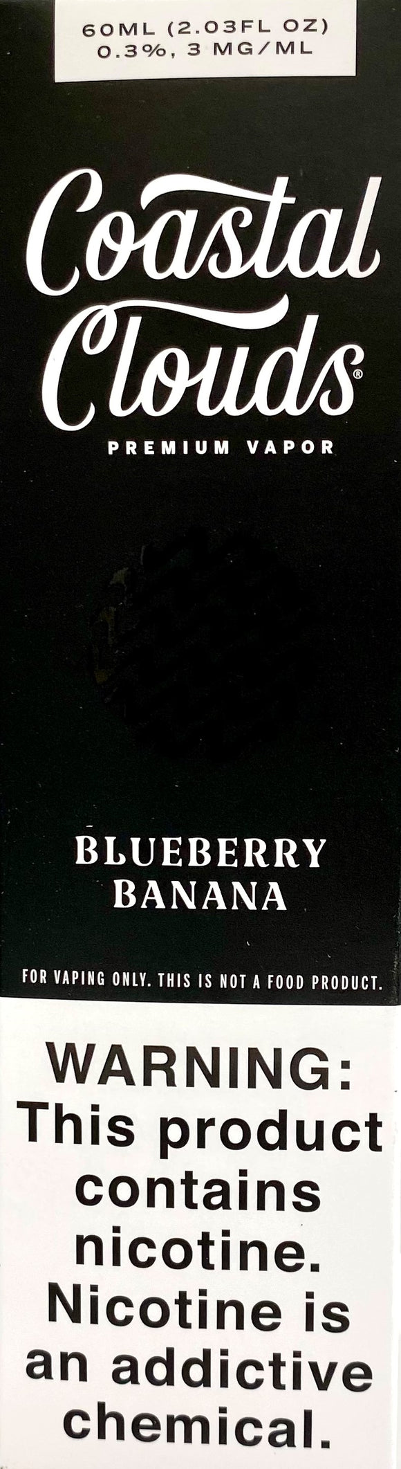 COASTAL CLOUDS | Blueberry Banana 60ml
