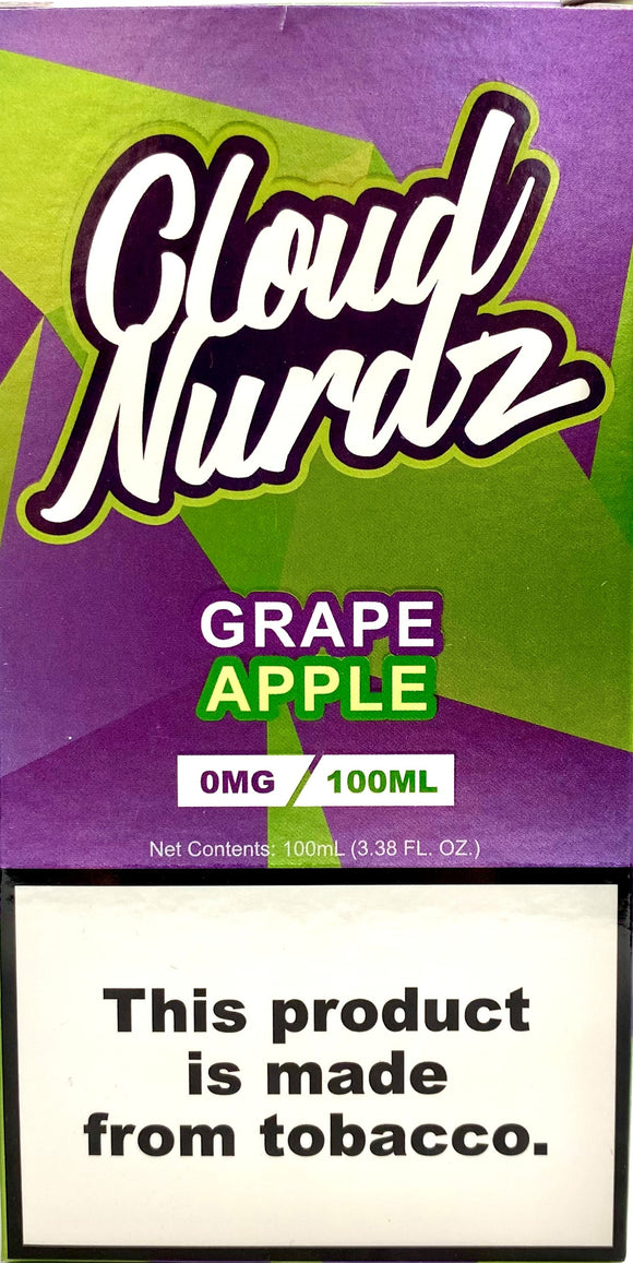 CLOUD NURDZ | Grape Apple 100ml