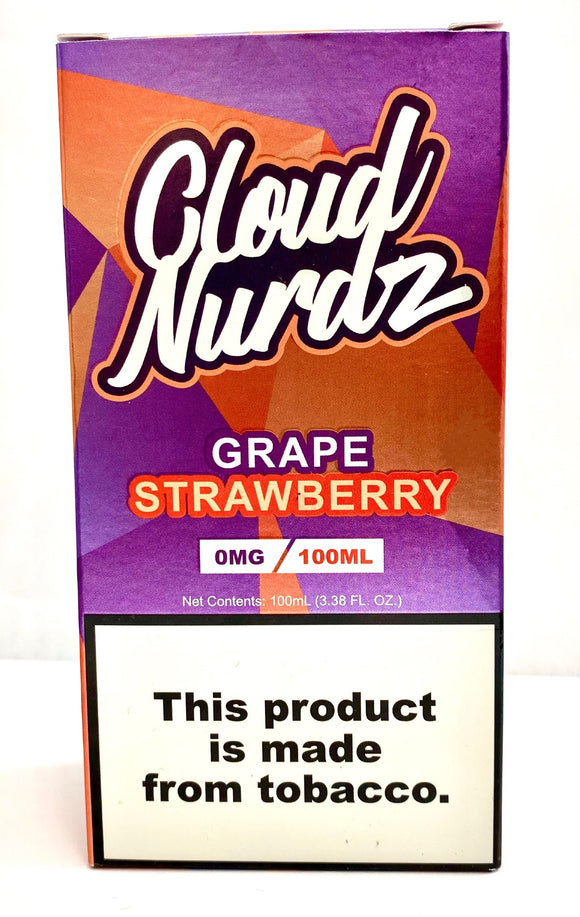 CLOUD NURDZ | Grape Strawberry 100ml