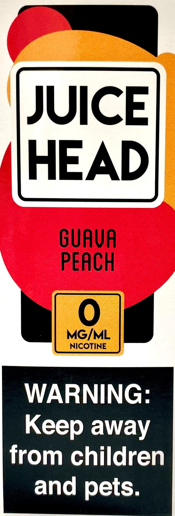 JUICE HEAD | Guava Peach 100ml