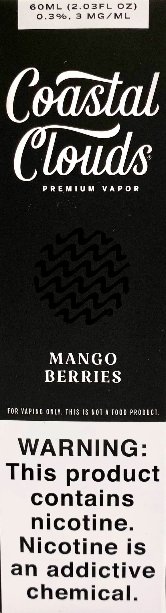 COASTAL CLOUDS | Mango Berries 60ml