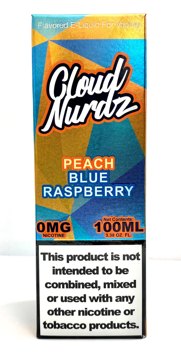 CLOUD NURDZ | Peach Blue Raspberry 100ml