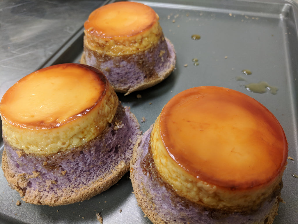 Ube Flan meets Eats of Asia
