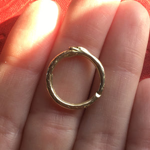 antique split ring