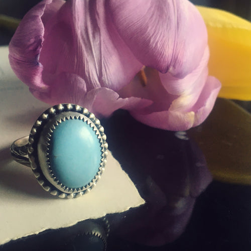 Austra Turquoise Ring