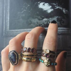 From Dust To Dust coffin ring
