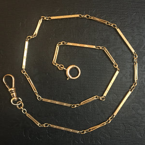Antique Watch Chain - 14k