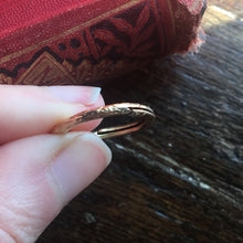 Antique Victorian Ouroboros Split Ring