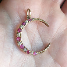 Victorian ruby crescent