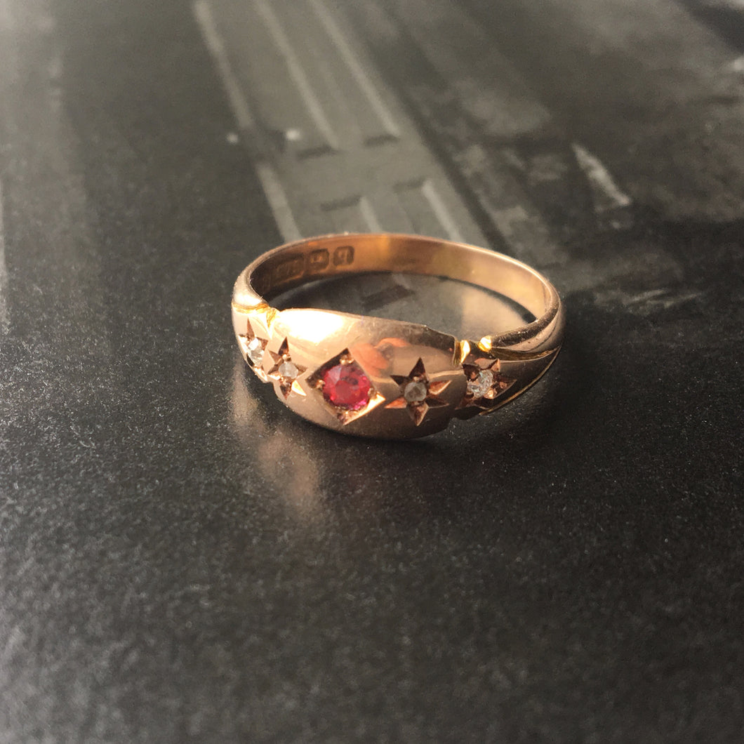 antique gypsy ring