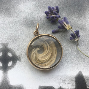 Georgian mourning locket