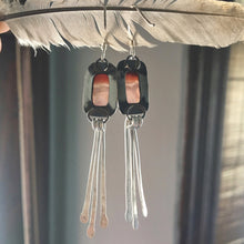 Eos Agate Tassel Earrings