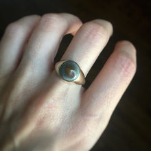 Custom Toadstone Ring for S in 10k - Size 7.5