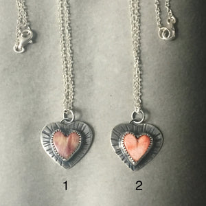 Splintered Hearts Necklace
