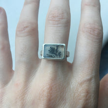 Shelley Dendritic Agate Ring