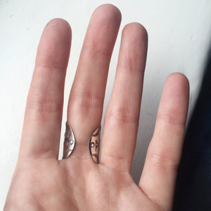 Hermetica Saddle Ring - Size 5-8