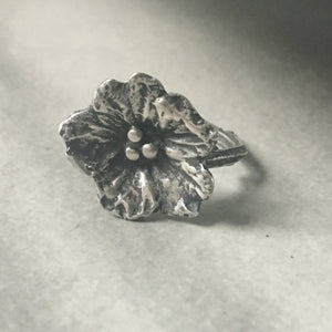 Viola Selvatica Ring - Size 6.25/6.5