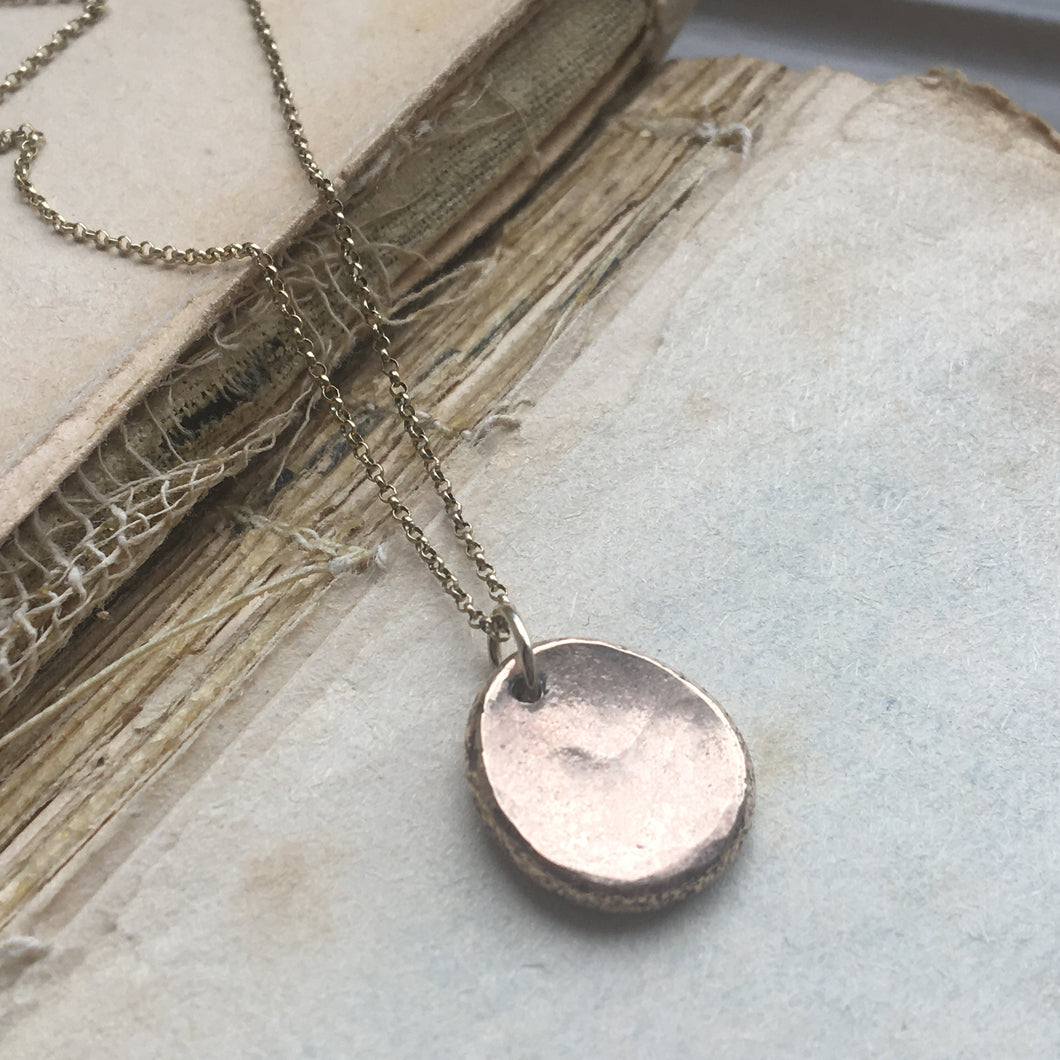 Worry Stone Necklace