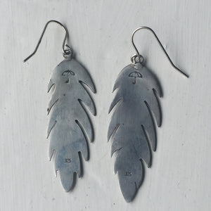 Spirit of Ma'at Feather Earrings
